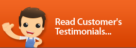 customers testimonials